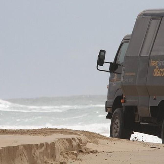 Ventajas de ir en autocar a la playa