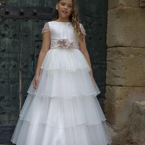 Vestidos de comunión niña Colección 2020. Cloe