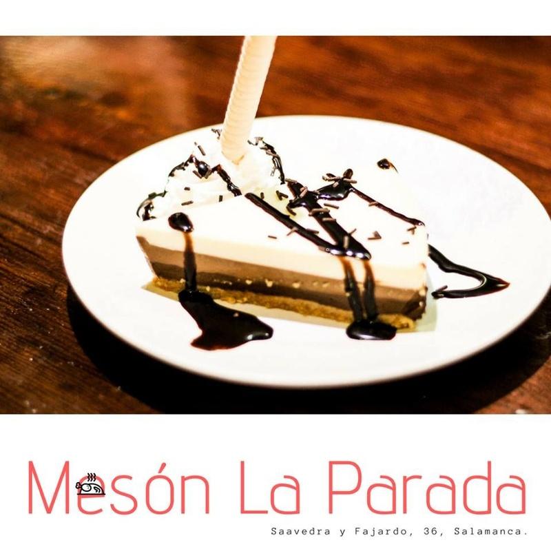 Vinos, bebidas y postres: Carta de Mesón La Parada