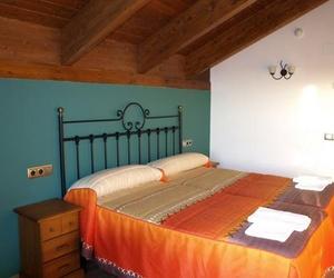 Habitación de dos camas de la casa