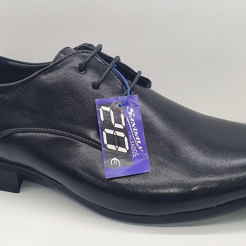 zapato napa brillo normal