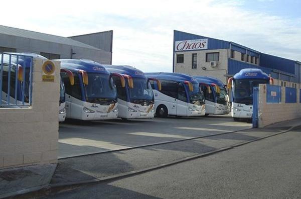 Autocares Chaos, S.A. - Alquiler de autocares adaptados