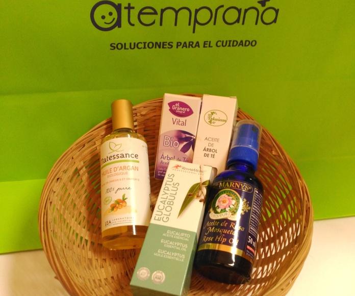 Cesta regalo de aceites esenciales : Alquiler de sillas de ruedas de Atemprana