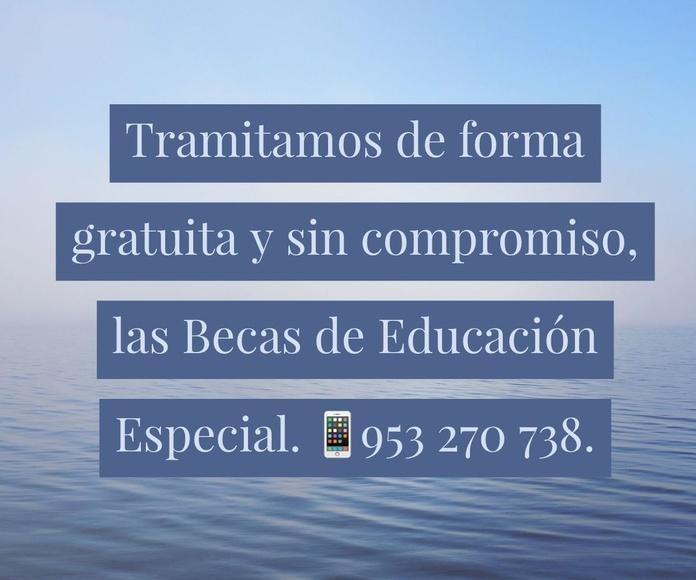 TRAMITAMOS GRATIS LAS BECAS DE EDUCACIÓN ESPECIAL: Servicios de PsicoJaén