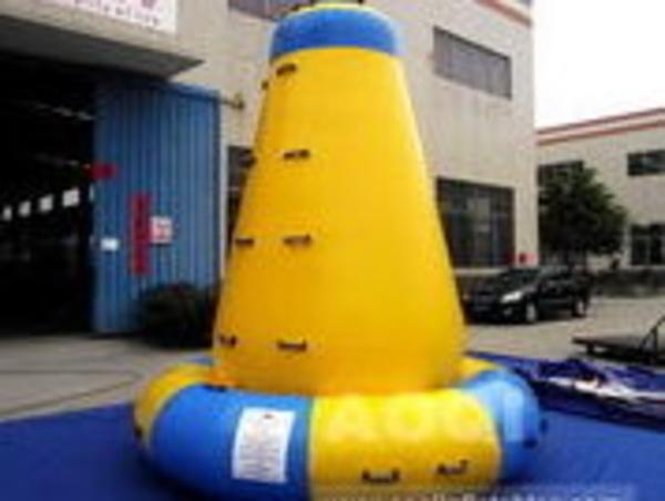Torre escalada hinchable