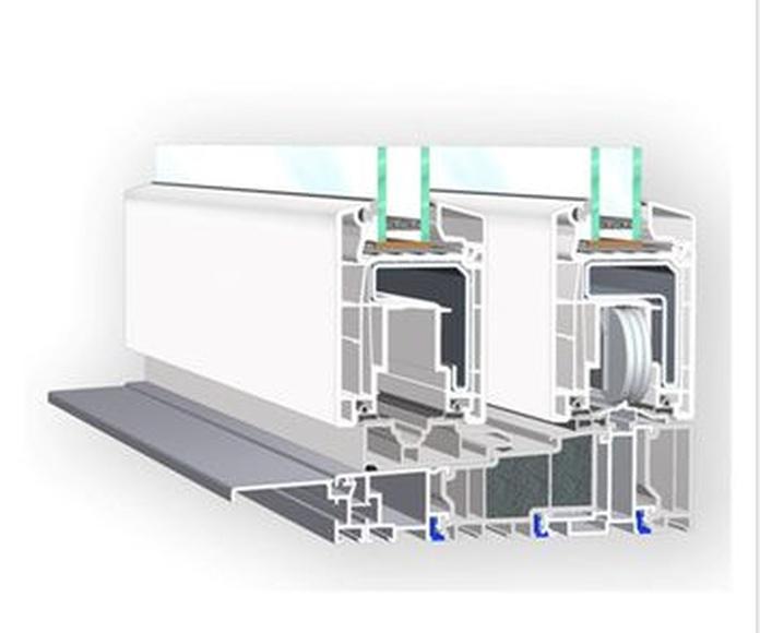 Sistema EC Vekaslide: Productos  de Alecar Ventanas