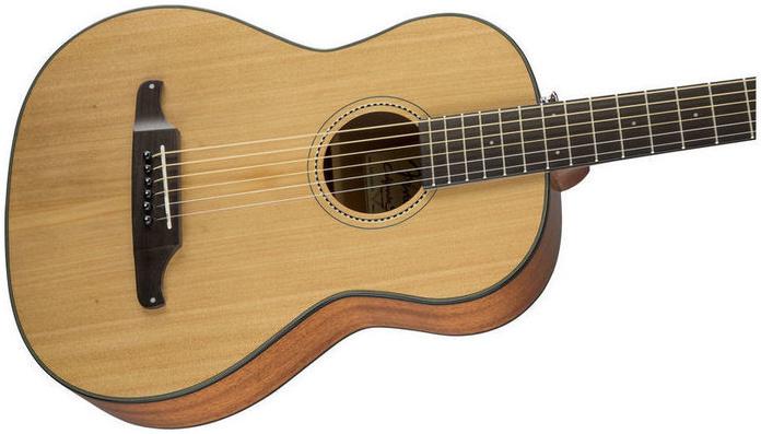 Acústica 3/4 Fender Mini Sonoran con funda. Decibelios Lanzarote