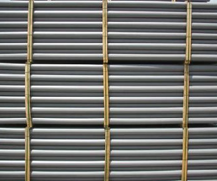 PVC tubecast (UNE EN 1453): Servicios de Plastics Castells, S.A.