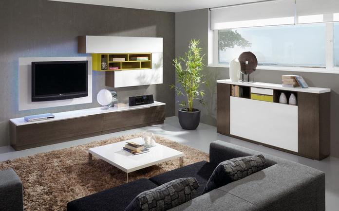 Conjunto librería de salón - comedor, modelo BM-4702: Muebles de Spais a Mida