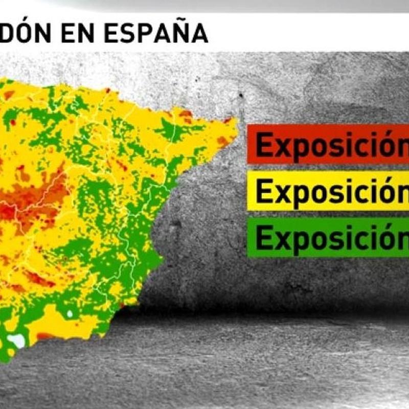 Barrera eficaz anti-radón con proyección de poliuretano: Productos de POLIUR MADRID