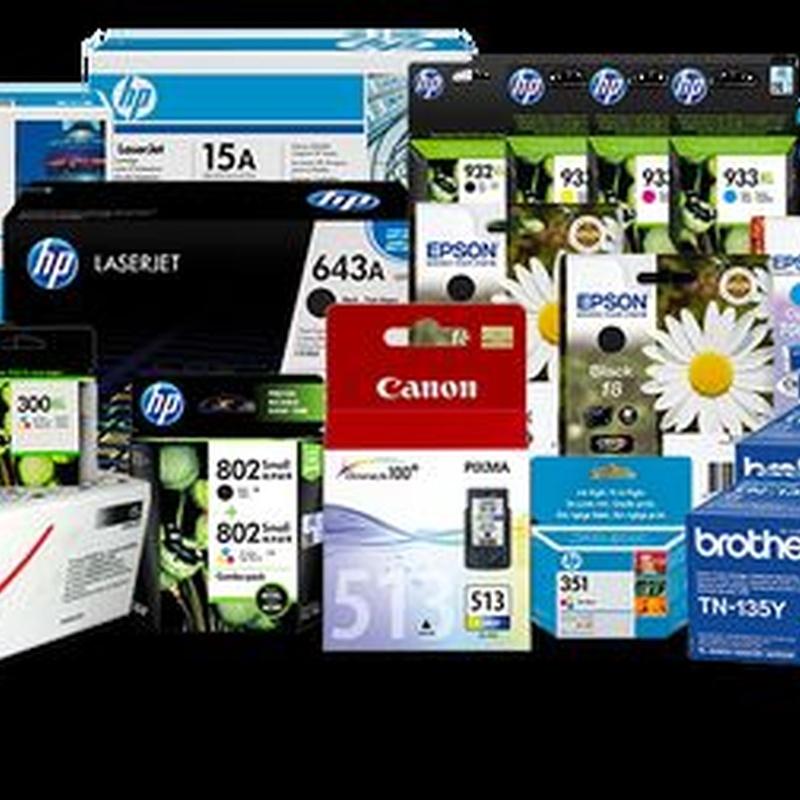 Tóner y cartuchos originales: Productos de Solicita gratis el catálogo general