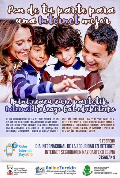 Día de Internet Segura - 9 de febrero 2016