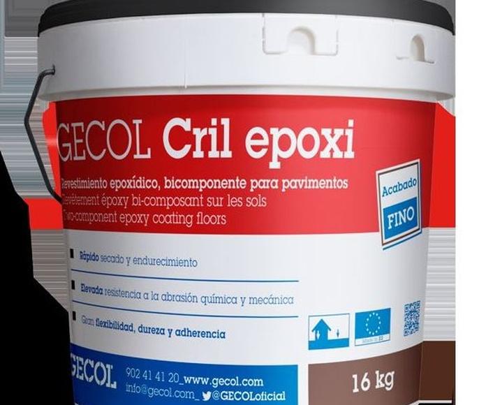 Revestimiento Cril Epoxi: Catálogo de Materiales de Construcción J. B.