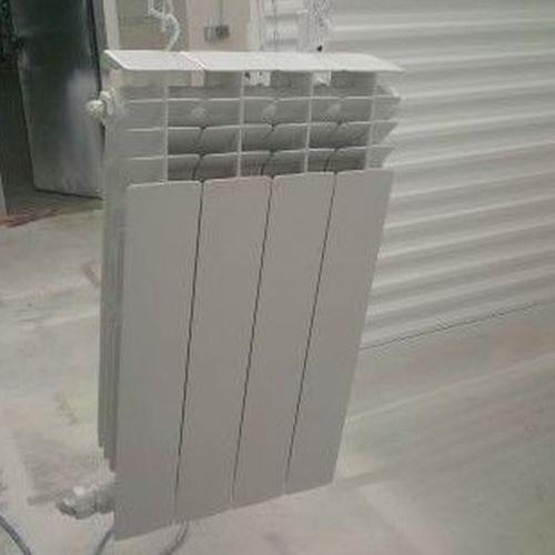 Pintors Martínez # pintado de radiadores en taller.