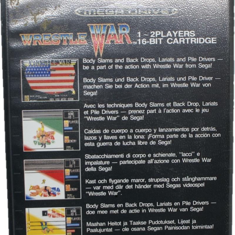 MEGA DRIVE WRESTLE WAR: Compra y Venta de Ocasiones La Moneta