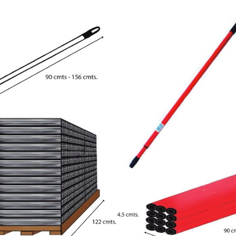 Palos de metal y aluminio: Productos de Elegi y Bissú