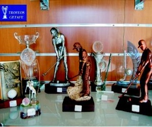 Galería de Trofeos y Objetos conmemorativos en Getafe | Trofeos Getafe