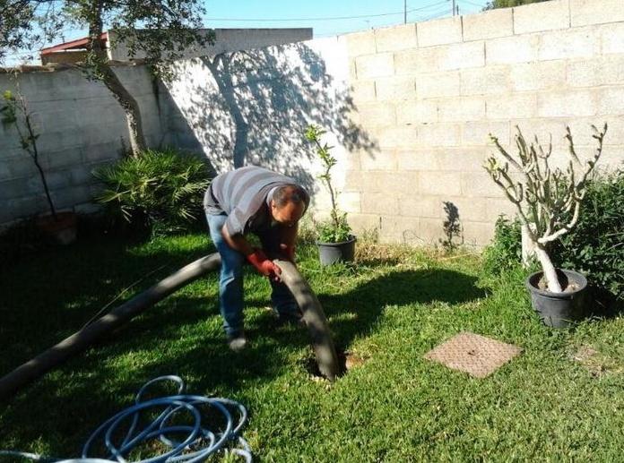 Limpieza de pozas Chiclana