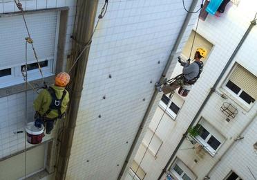 rehabilitación de edificios en Santander.