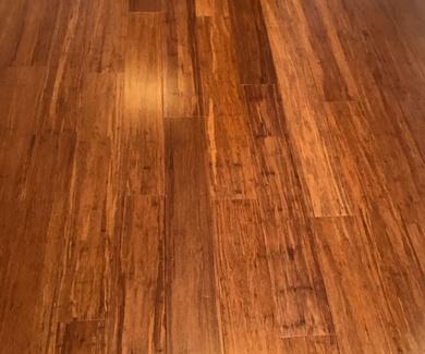 Tarima de  Mosso-Bambu Tostada de 1830X154X15mm. en una lama.