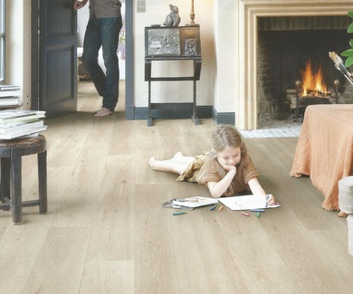 Quick-Step Largo LPU-1660. Roble Long Island Claro en Planchas.