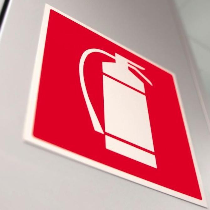 La señalización contra incendios