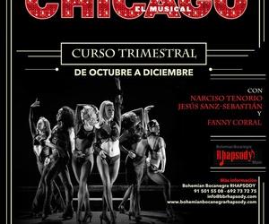 """WORKSHOP """"CHICAGO el Musical"""" (Montaje y Puesta en Escena en un TEATRO de la Comunicada de Madrid en Diciembre) con Jesús Sanz-Sebastian, Narciso Tenorio y Fanny Corral"""