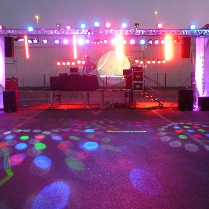 Discomóviles: Nuestros servicios de Jukeval Eventos