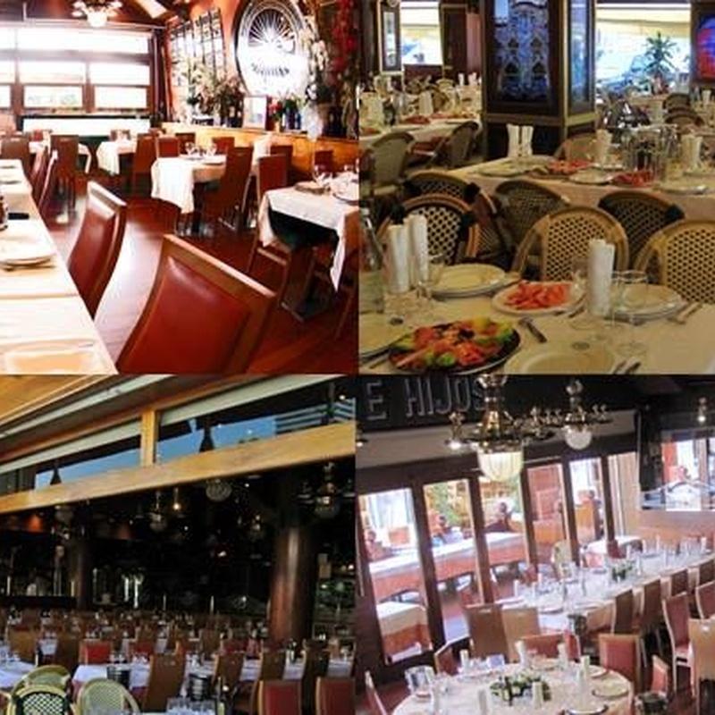 Rest. La Barca del Salamanca. Vinos: Menús restaurantes de Grupo Silvestre