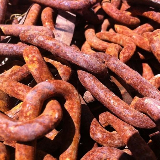 Precios por kilo de hierro, plomo, cobre…