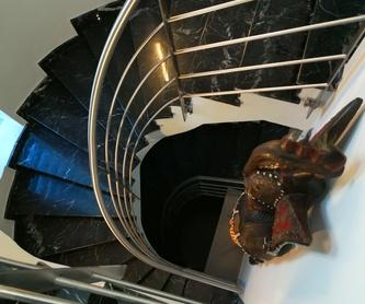 Vitrina de frescos de acero inoxidable y vidrio para hostelería.:  de Icminox