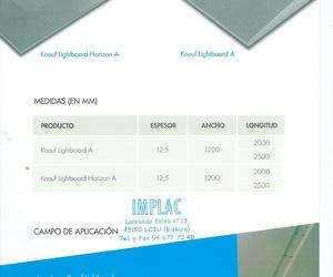 Placa Lightboard Knauf