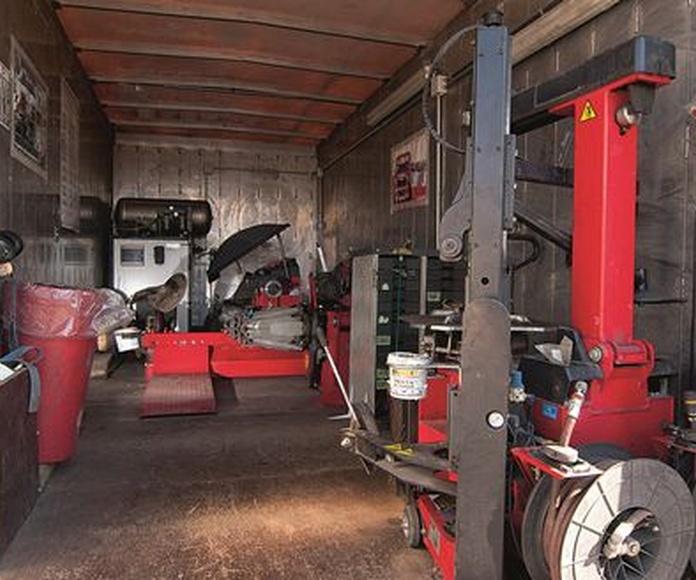 Mecánica rápida: Servicios de Dismatyre