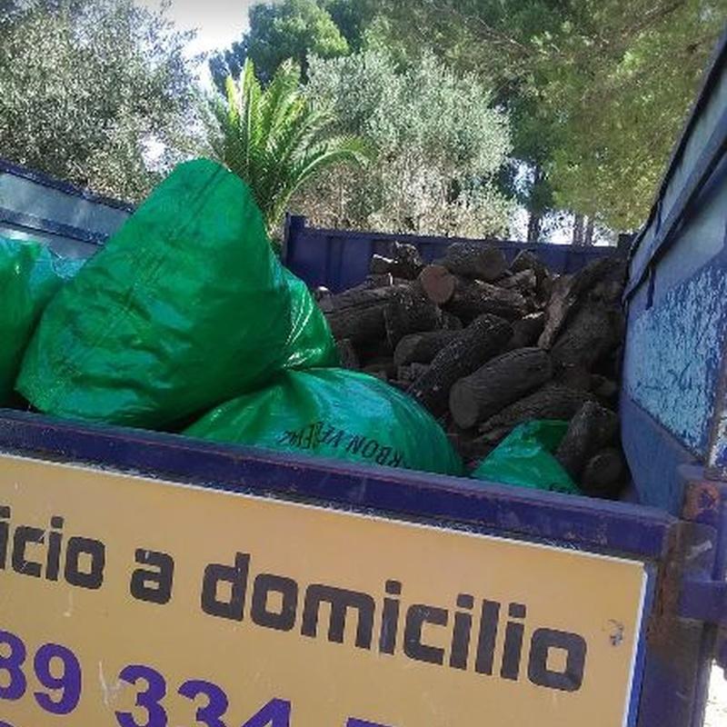 Leña a domicilio: Servicios de Chimo Almacén de Leña