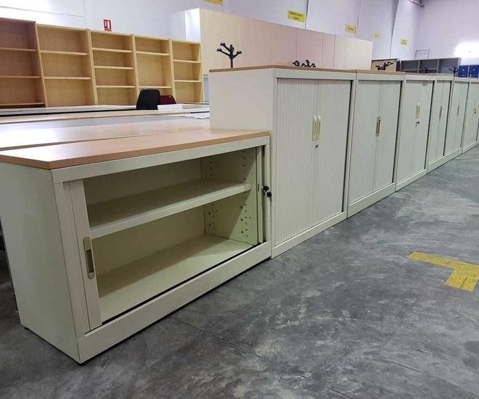 Muebles metálicos Valencia. Ofimob