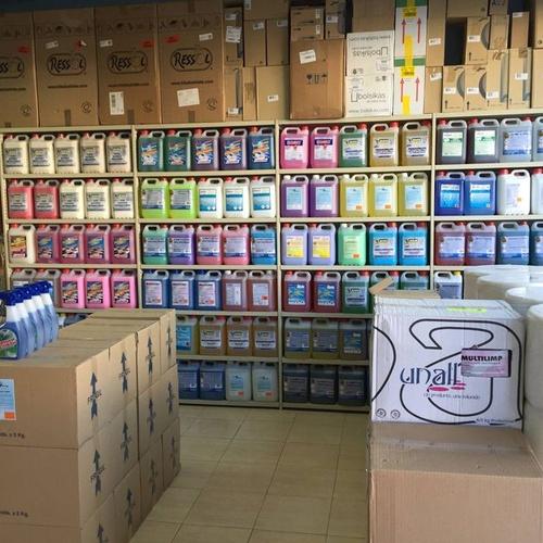 Distribución de productos de limpieza en Madrid