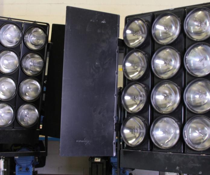 Proyectores lámpara par 64: Material en alquiler de MAP