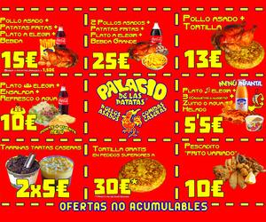OFERTAS PALACIO DE LAS PATATAS ®