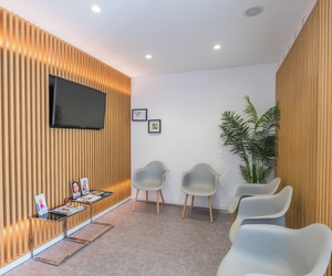 Sala de espera de la Clínica Dental Ayuso