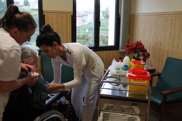 Servicios sanitarios: La Residencia de Residencia San José de la Montaña