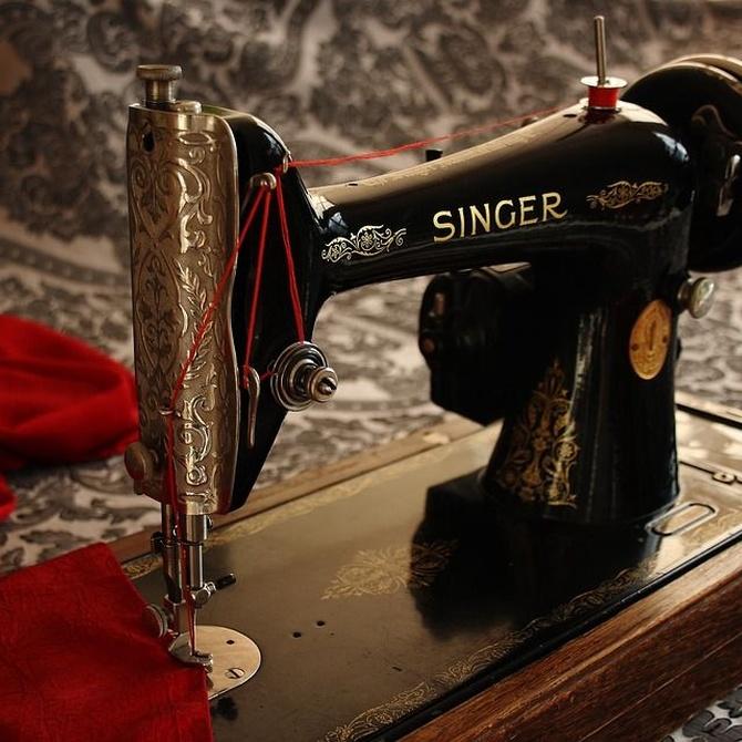 Datos curiosos sobre las máquinas de coser