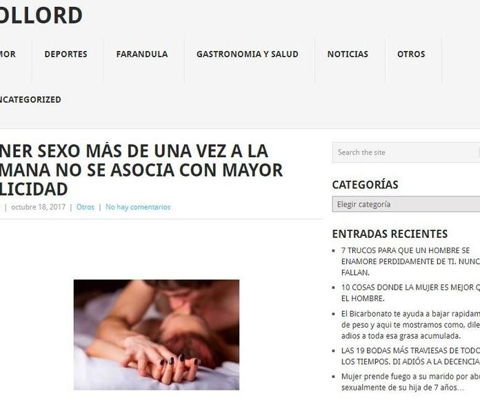 Nueva colaboración como Asesor en Sexualidad, para Rollord.com