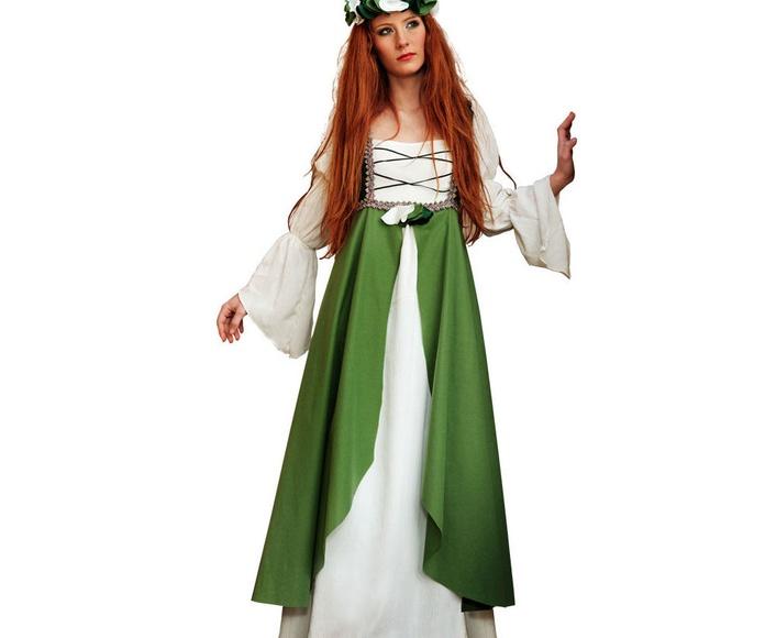 Disfraz dama medieval mujer Clarisa