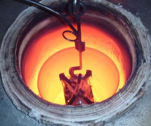 Trabajos en horno de temple de atmósfera controlada