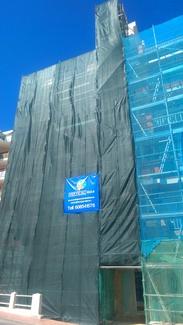 Rehabilitacion de edificio c/ isidoro Macabich 5 Sant Antony