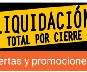 LIQUIDACIÓN TOTAL POR CIERRE  !!