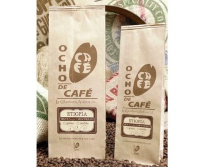 Etiopía mezcla con caracolillo: Productos de Ocho de Café