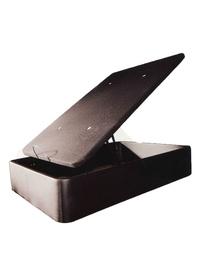 Canapé Polimax, canapé abatible en polipiel con tapa tapizada en tela 3D y válvulas de aireación, con una medida interior de 30cm. Diponibilidad en varios colores.