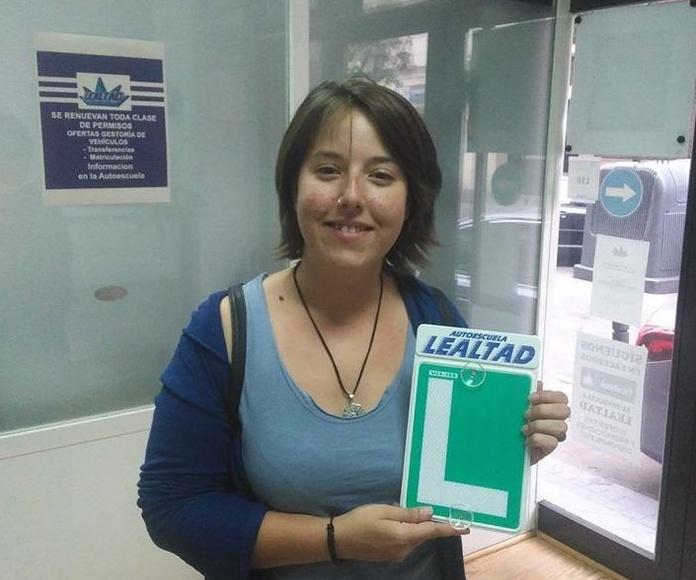 Autoescuela Lealtad alto indice de aprobados