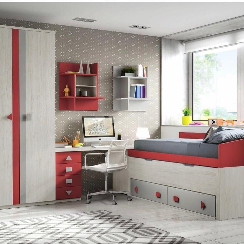 Dormitorios juveniles e infantiles: Catálogo de productos de Cinta Mobiliari i Decoracio